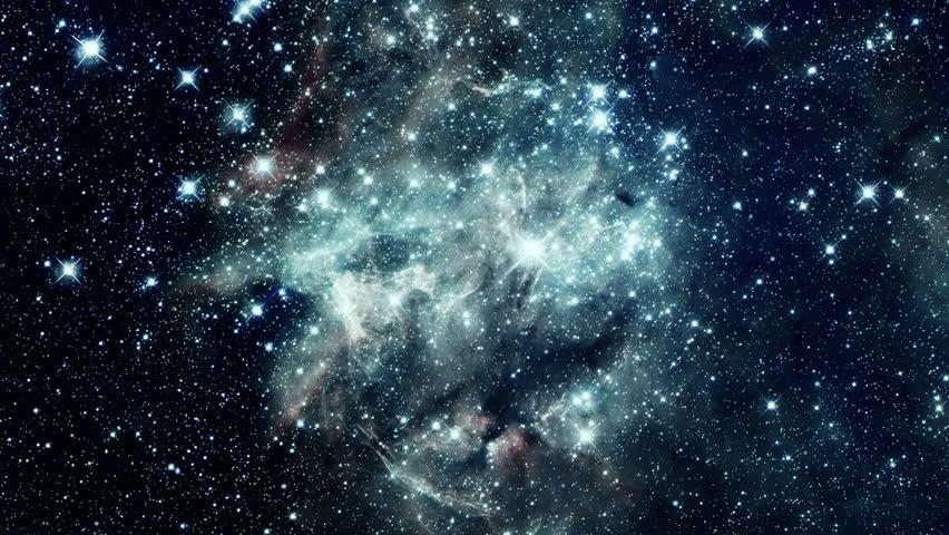 Looping Space Flight Through a Galaxy