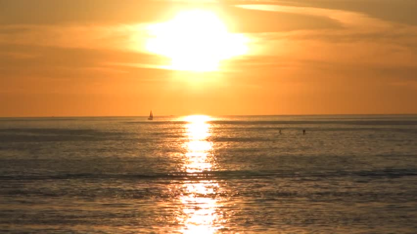 Time Lapse of Sunset at the Beach in Santa Monica