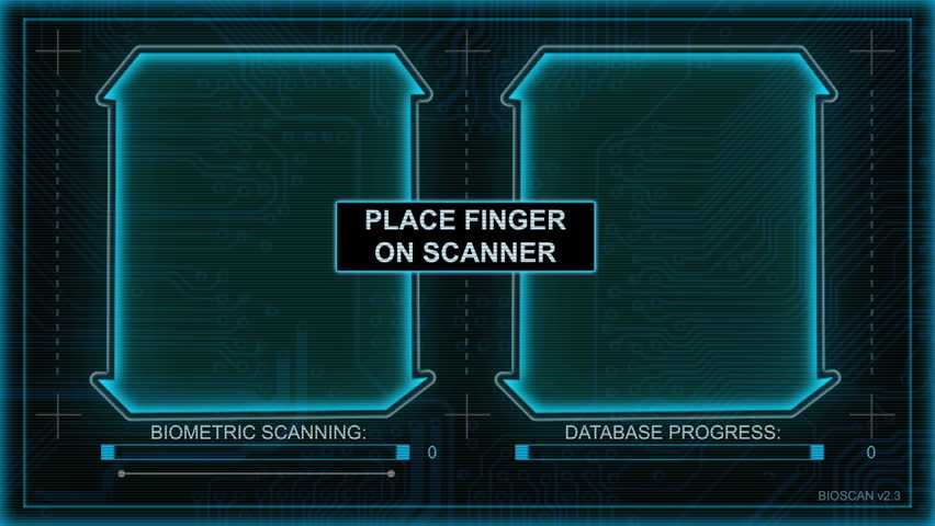 High Tech Fingerprint Scanning / Pattern Matching Biometric System. Perfect for: scanning, ID systems, high security access, biometrics