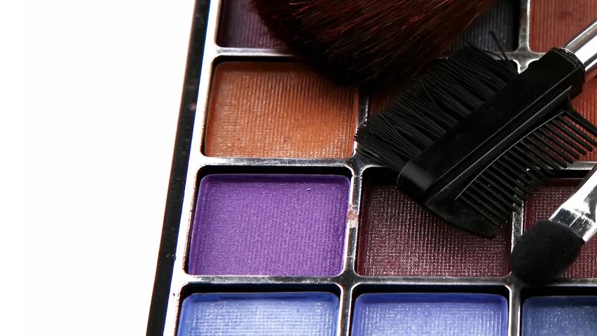 eyeshadow kit for make-up 1920x1080 intro motion slow hidef hd