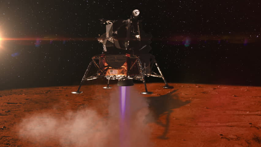 footage landing on mars - photo #13