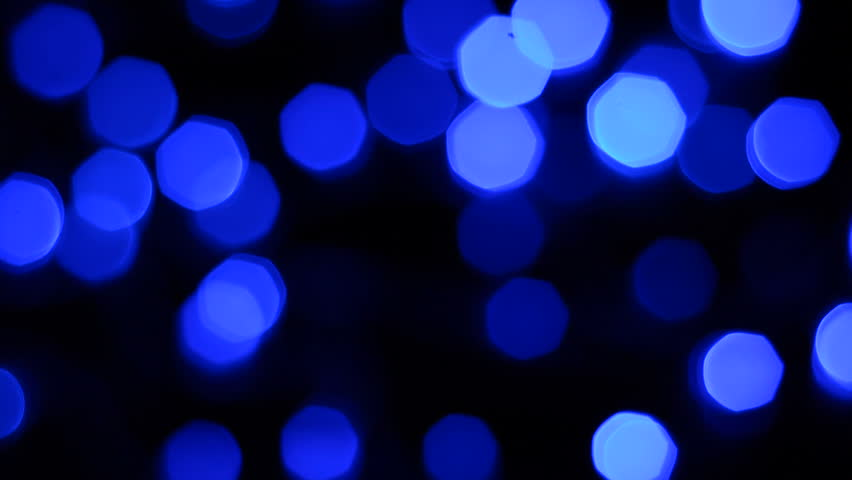 Brilliant Light Effects Background Elegant Hd Light: Nice, Delicate Blurred Bokeh Hotspot With Brilliant Blue