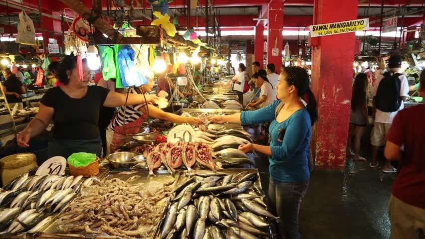 Los banos philippines january 18 filipino customers for Fresh fish market los angeles