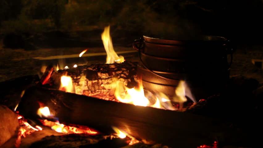 Big Saucepan over the coals.