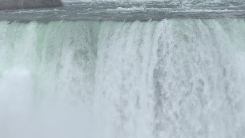 Niagara falls in Niagara River are one of the main tourist attraction in Ontario and Canada.