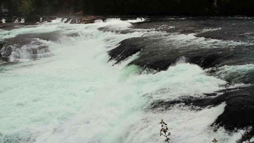 Rhine Waterfall, Switzerland circa 2012 - HD stock video clip