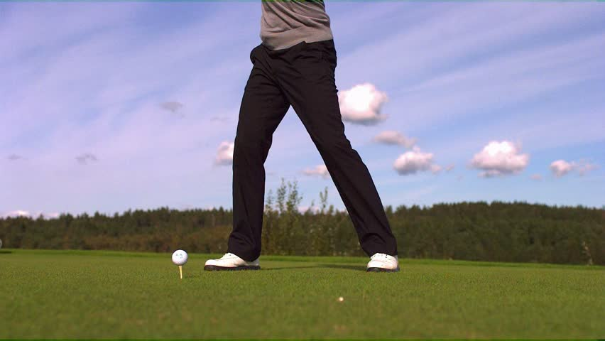 Golf Slow motion. Phantom HD 720P