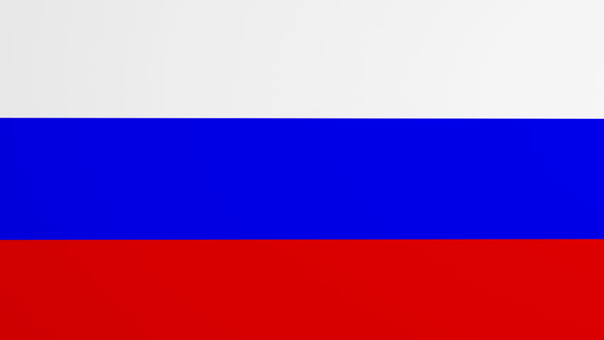 Russian Flag Page curl transition. Comes with Alpha MAtte