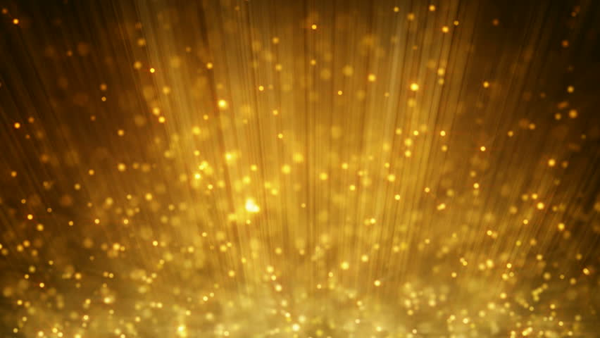 Loopable Motion Background Rising Gold Particles Stock ...  Loopable Motion...