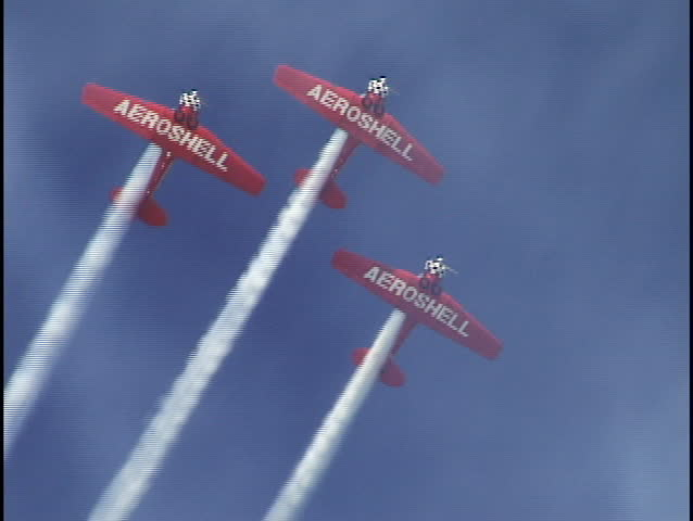 Stunt Planes at Air Show 1