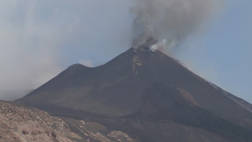 Volcano Etna 08/12/2014