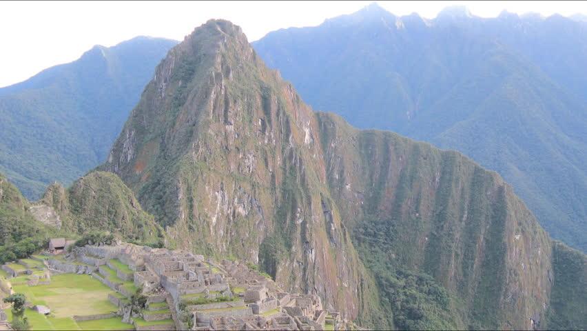 Machu Picchu city sunrise time lapse, Peru - HD stock footage clip