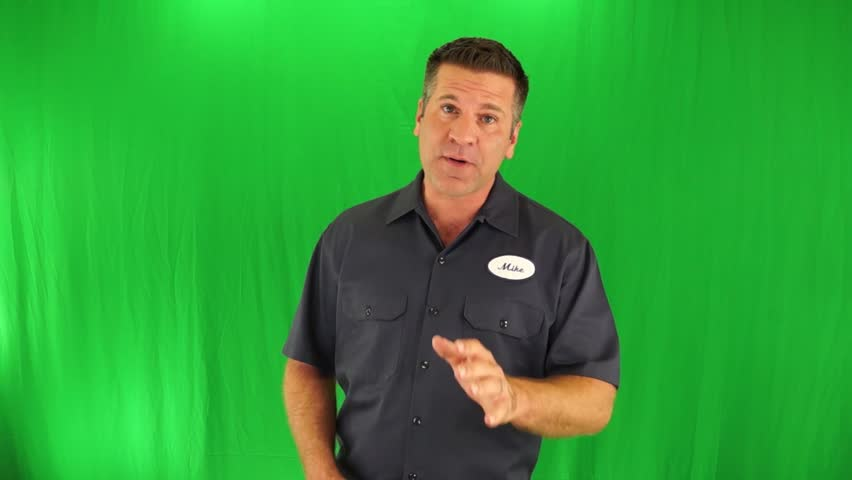 A Spokesperson Does a Generic Commercial For Any Carpet Cleaning Company