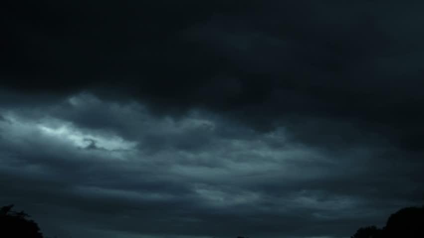 dark cloudscape