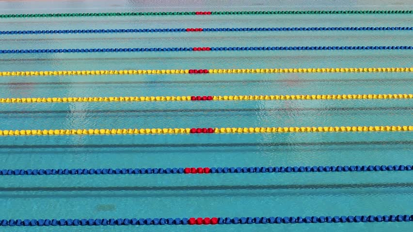 Track Field For Race Swimming Pool Stock Footage Video 8294314 Shutterstock
