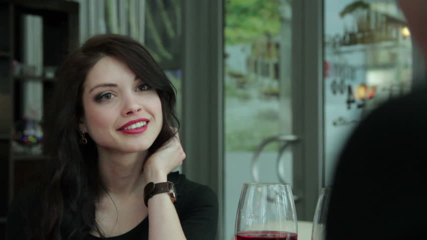 Beautiful girl laughs - HD stock video clip