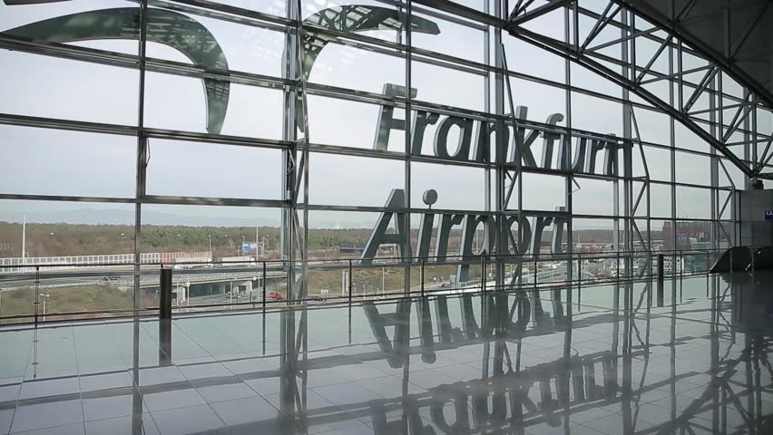Clip 8622700 Stock Footage Frankfurt Germany February Inside The Frankfurt Airport With Sign Reflecting On Floor on 24 X 30 Floor Plans