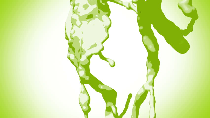 Stylized Green Poison liquid - HD stock video clip