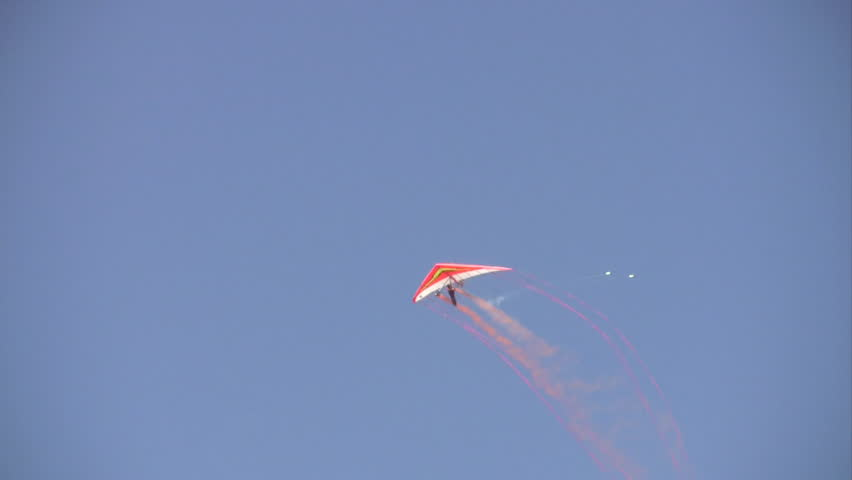 Video of an hangglider  an airshow at Randolph AFB Texas.