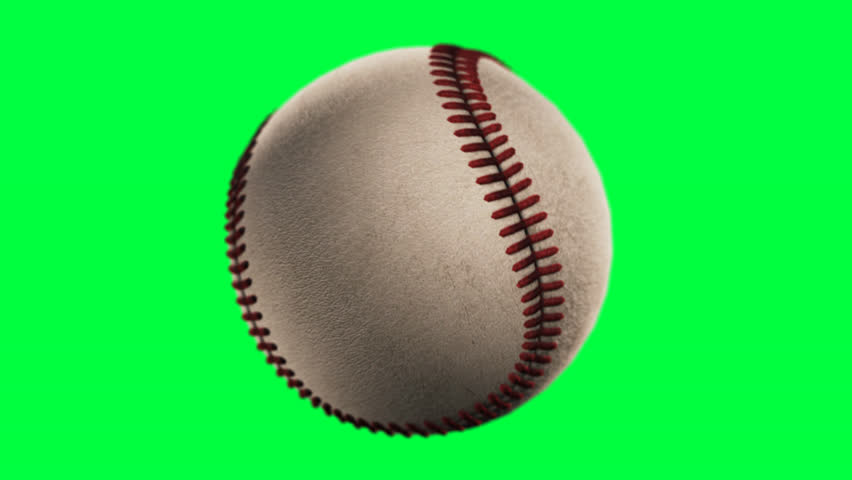 BaseBall, loop seamless, alpha channel,   Rotation on a transparent background, the ability to impose without cutting any footage