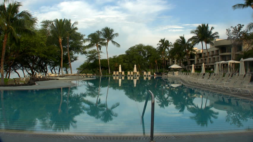 HD beautiful pool Big Island Hawaii - HD stock footage clip