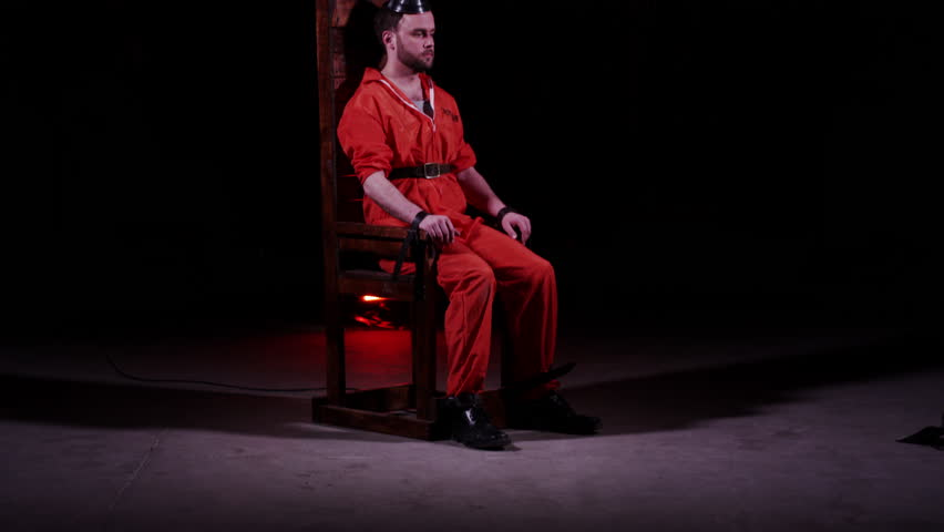 Real electric chair death - Capital Punishment Electric Chair Male Prisoner