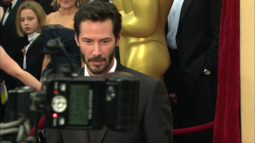 Hollywood, CA - March 07,2010: Keanu Reeves at Academy Awards 2010, Kodak Theatre