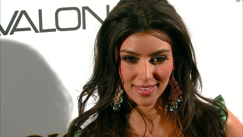 Hollywood, CA - May 10,2007: Kim Kardashian at Lyric Culture Launch Party and Runway Show, Avalon