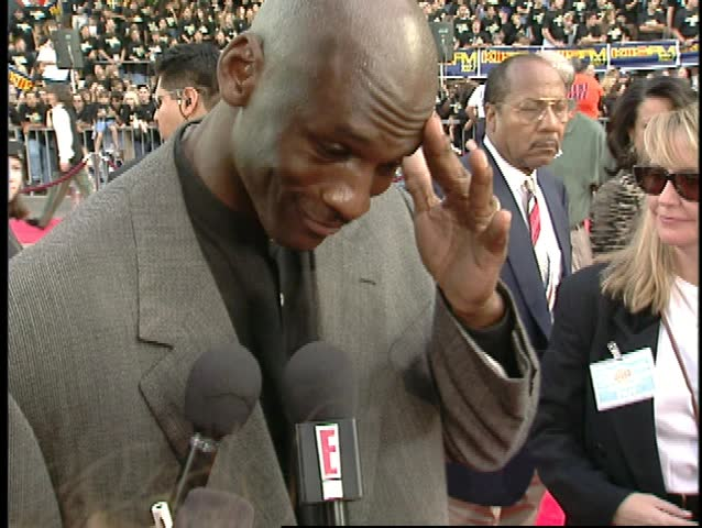 Hollywood, CA - November 10,1996: Michael Jordan at Space Jam Premiere, Graumans Chinese Theatre